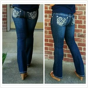 Denim - Sassy Rose Jeans