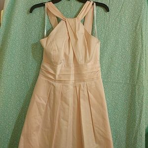 David's Bridal Dresses & Skirts - Light Pink Satiny Dress