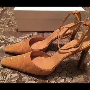 Casadei Shoes - CASADEI TAN SUEDE 10M
