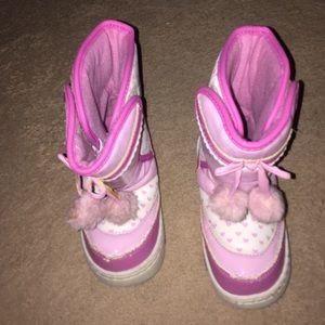 Disney Princess Girl's Boots. Size Tod. 11 M