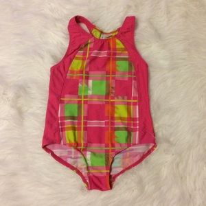 Big Chill Other - Neon Plaid Swimsuit