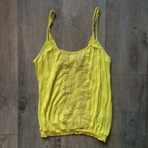Urban Outfitters Kimichi & Blue Yellow Cami Top