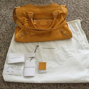 Balenciaga Handbags - Balenciaga city G12 SHW