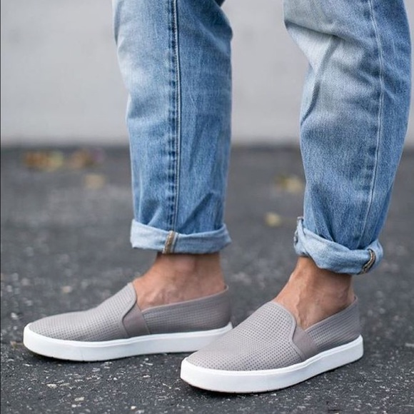 83d466cbc Vince Woodsmoke Blair Perforated Slip-On Sneakers.  M_57a196207fab3ad75a0270a3