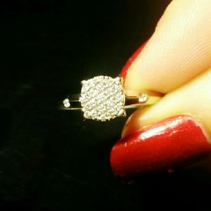 Jewelry - $2,200 W/appraisal 14k WG .59ct Engagement Ring
