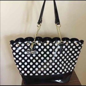Betsey Johnson Scallop Bag