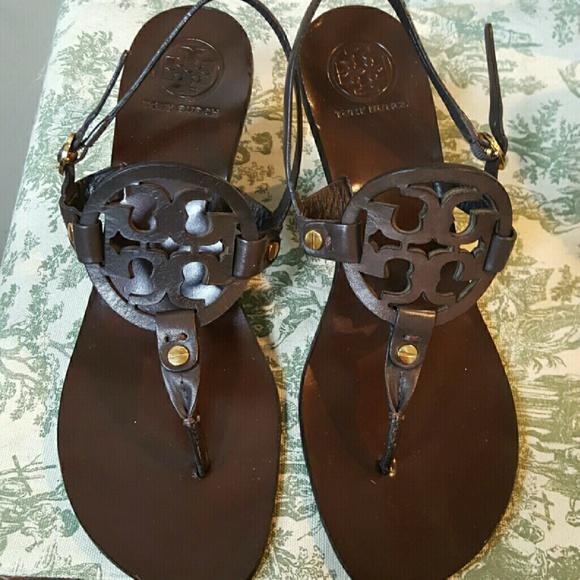 c5c086bd42e Tory Burch Miller Heeled Sandals 8. M 57a63bdb4e95a31a1d00aba1