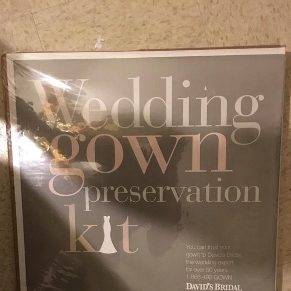 David\'s Bridal Other | Davids Bridal Wedding Gown Preservation Kit ...