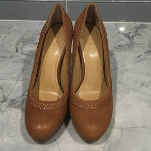 Nine West Brown Leather Pump (size 7)
