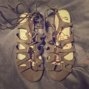 "Sam Edelman ""Boyden"" Lace Up Sandals"
