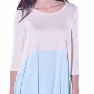 """Pastels Clothing Tops - Pastels Sunny Sidetail Tunic""""!🆕"""