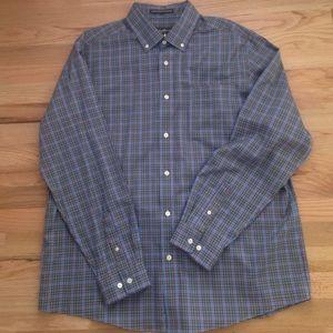 Men's Eddie Bauer plaid shirt.
