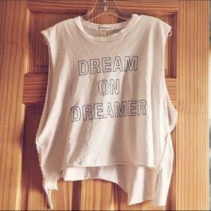 """""""Dreamer"""" Muscle Tee NWOT"""