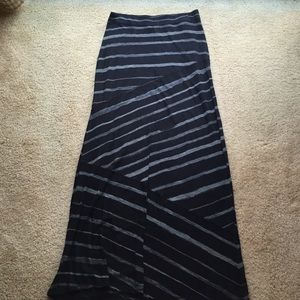 Express - Plum maxi skirt from Ashlyn's closet on Poshmark