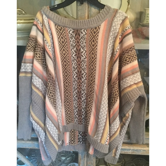64% off CAbi Sweaters - CAbi Fair Isle Poncho from K ⚡️top 10 ...