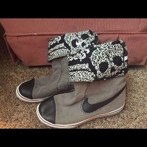 Nike Skull Boots