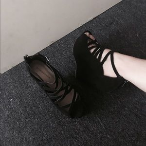 Prima Donna Shoes - Black wedge heels