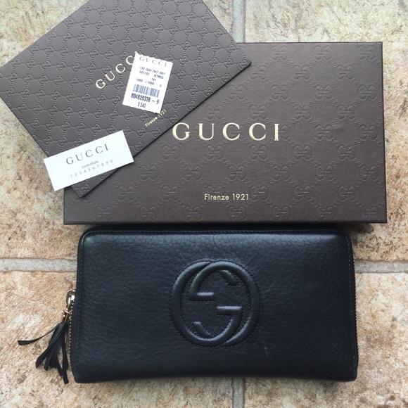 a2edb4fe671844 Gucci Bags | Soho Travel Wallet | Poshmark