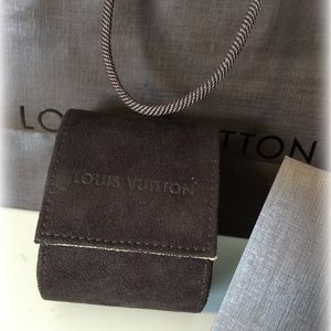 Brand New - Authentic LV Watch Pouch