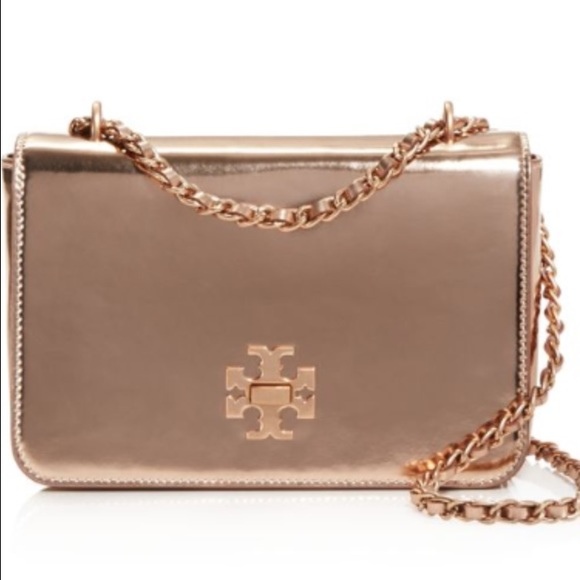 66227a8bd Tory burch mercer metallic adjustable shoulder bag.  M 57a239186a5830832e033d74