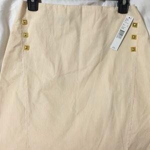 NWT-Antonio Melani pencil stripe skirt