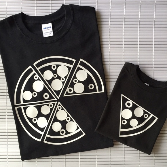 72338fe1 Shirts & Tops | Dad And Me Pizza Matching Tees | Poshmark