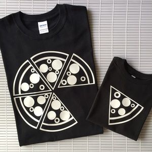 Other - Dad and Me Pizza Matching Tees