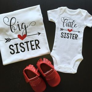 Other - 🎉HP🎉 Big and Little Sis Tees