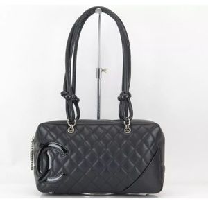 Chanel Handbags - Flash Sale! CHANEL Calfskin Quilted Cambon