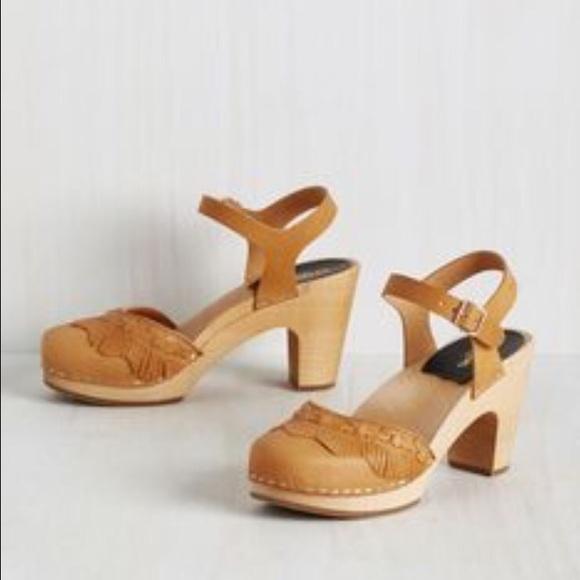 afdfc28f861ba Swedish hasbeens tan fringe sandal. M_57a243cc41b4e0972e000a5d