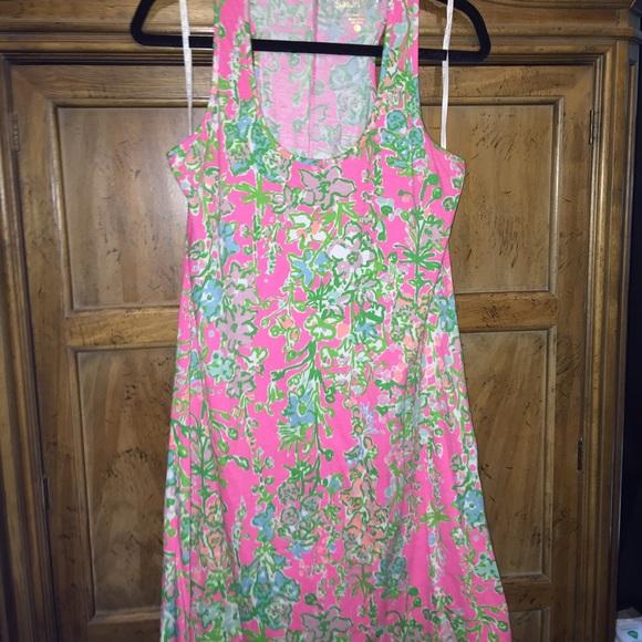 69d2b5f50d170b Lilly Pulitzer Dresses & Skirts - Lilly Pulitzer Melle Trapeze Tank Dress