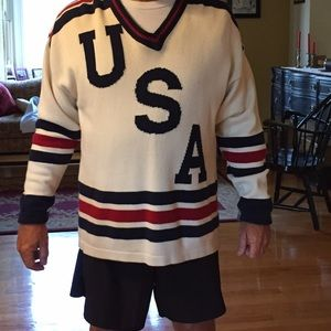 Old Glory Sweaters - Men's USA cotton sweater