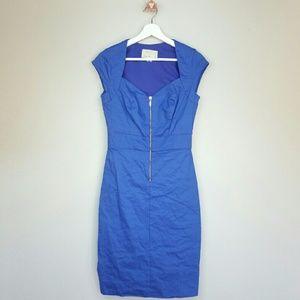 Nicole Miller Dresses & Skirts - Nicole Miller Artelier cap sleeve crinkled dress