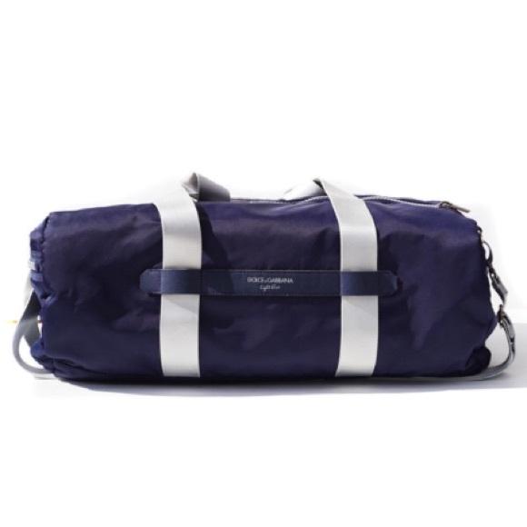 f57f513d8e57 Dolce   Gabbana Handbags - Dolce Gabbana Light Blue Gym Bag
