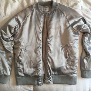 FINAL SALE  UNIF satin bomber jacket