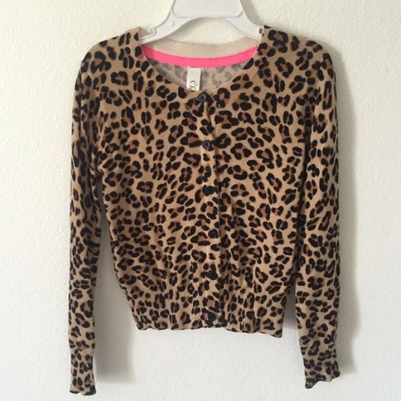 Cherokee - Girls Leopard Cardigan from ! designer fashion finds's ...
