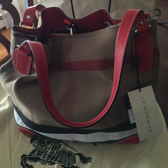 29f7bf3e8249 Burberry Canvas Check Medium Maidstone Tote