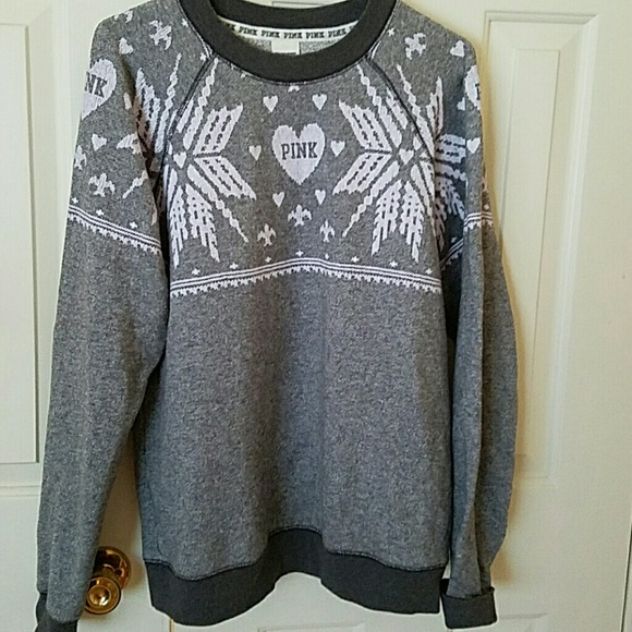 76% off PINK Victoria's Secret Sweaters - VS Pink holiday sweater ...