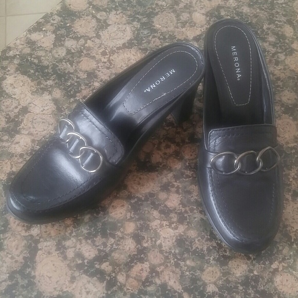 Merona Shoes - Merona black dress shoe