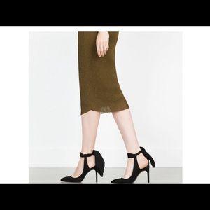Zara Slingback High Heeled Shoes
