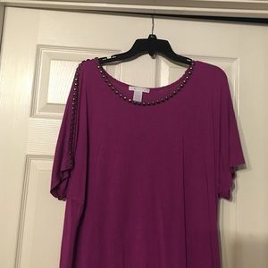 Design History Tops - Purple blouse
