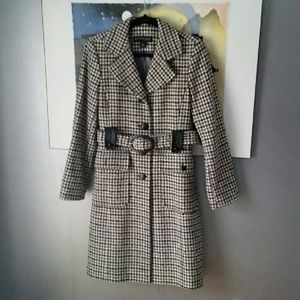 Kenneth Cole Jackets & Blazers - 🐼Houndstooth Wool Blend Coat🐼