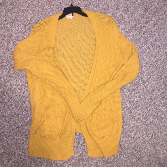50% off Mossimo Supply Co. Sweaters - Target Mustard Yellow ...
