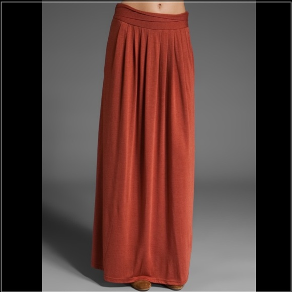 8d3306f88b8 Forever 21 Dresses   Skirts - Rust-colored Maxi Skirt! 🌼