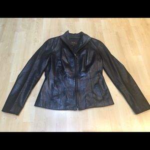 Cole Haan leather jacket 4