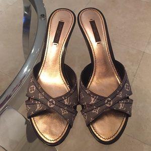 9c120ce333b32b Louis Vuitton Shoes - Louis Vuitton Monogram Sandals