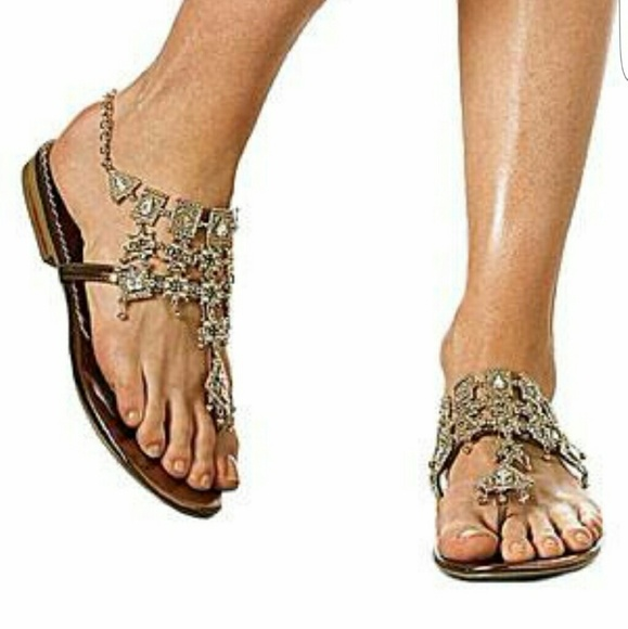 3006734aea8cb3 Colin Stuart Shoes - Colin Stuart Chandelier Thongs sandal