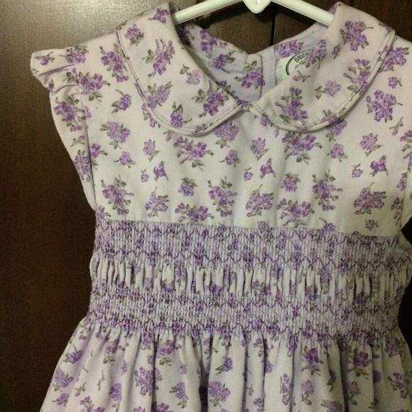 4eb471e6c Laura Ashley Other - ✨ SALE ✨ Girls Laura Ashley dress with Smocking