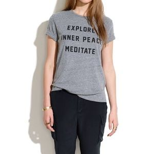 Madewell Tops - RXMANCE + MADEWELL Meditate Tee