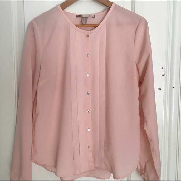 Forever 21 - Forever 21 Blush Pink Shirt from Rubi's closet on ...